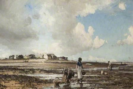 The Mussel Gatherers, Sunderland Point, Lancashire
