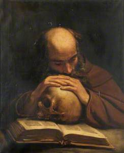 Soothsayer with Skull