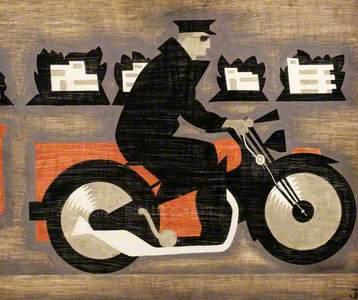 Royal Mail AD 1935, Dispatch Rider
