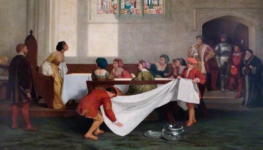The Arrest of Anne Boleyn at Greenwich