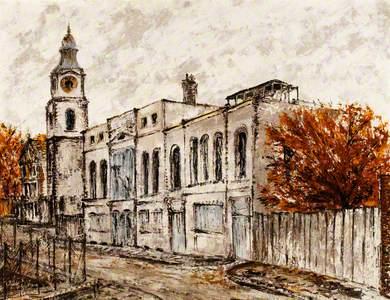 St John's Steeple, Wapping