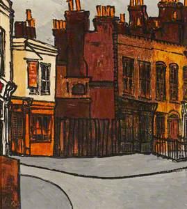 Street Scene, with 'Victoria' Public House, Poplar