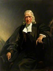 John Wesley as an Old Man