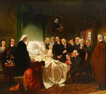 The Holy Triumph of John Wesley in His Dying