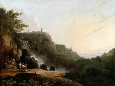 View of Tivoli (the Cascatelle and the 'Villa of Maecenas')
