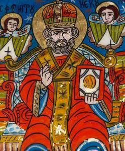 Saint Nicholas Wearing a Sakkos