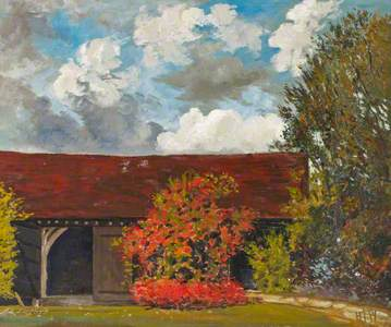 A Garden Landscape. Chorley Wood