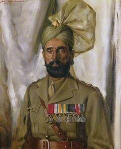 Subadar Khudadad Khan, VC (1888–1971), 10th Baluch Regiment, c.1935