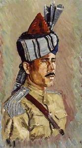 A Jemadar of Indian Cavalry, 1938