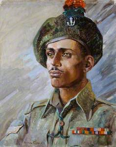 Sepoy (later Subadar) Namdeo Jadhav, VC (c.1922–1984), 1st Battalion 5th Mahratta Light Infantry, c.