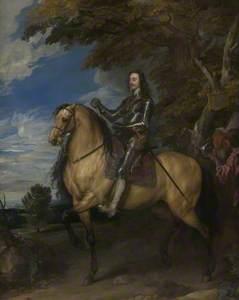 Equestrian Portrait of Charles I
