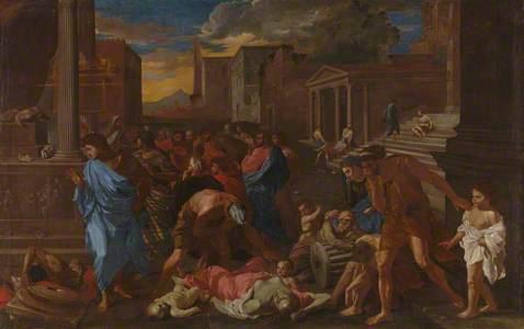 The Plague at Ashdod (after Poussin)