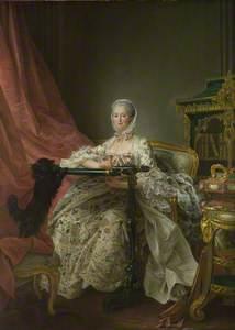 Madame de Pompadour at her Tambour Frame