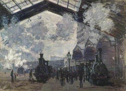 The Gare St-Lazare