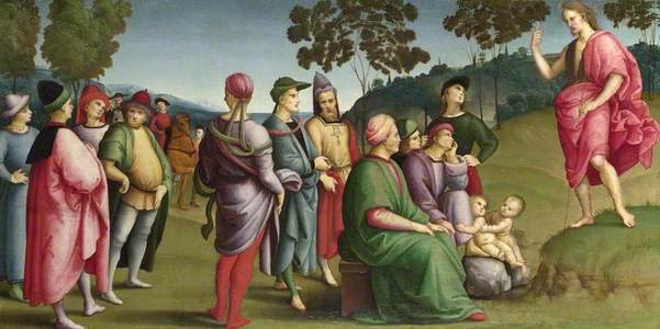 Saint John the Baptist Preaching