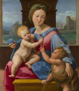The Madonna and Child with the Infant Baptist (The Garvagh Madonna)