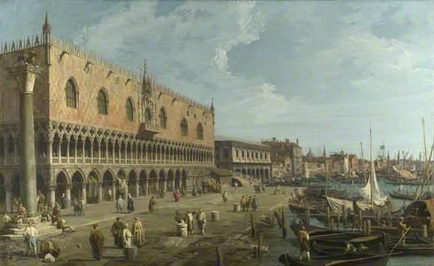 Venice: The Doge's Palace and the Riva degli Schiavoni