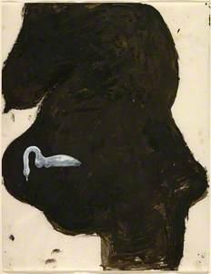 Schwangere und Schwan (Pregnant Woman with Swan)