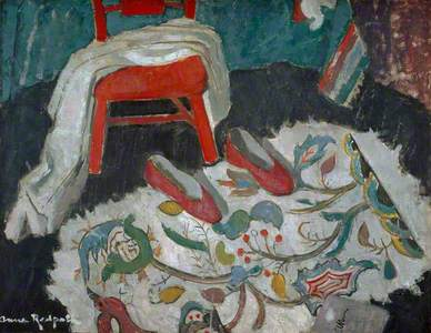 The Indian Rug (Red Slippers)