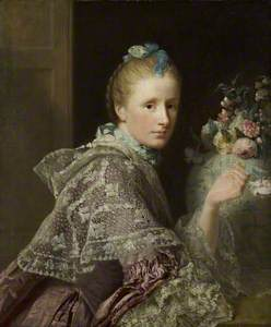 The Artist's Wife, Margaret Lindsay of Evelick (c.1726–1782)