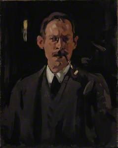 Samuel John Peploe (1871–1935), Artist, Self Portrait