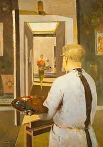 Hugh Adam Crawford (1898–1982), Artist (Self Portrait)