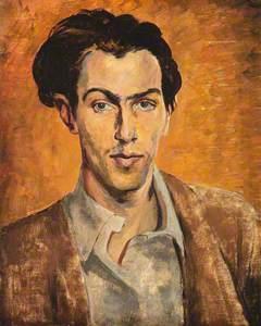 Robert Colquhoun (1914–1962), Artist, Self Portrait