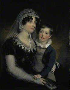 Carolina Oliphant (1766–1845), Lady Nairne, Songwriter, with her Son William Murray Nairne (1808–183