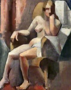 Seated Female Nude