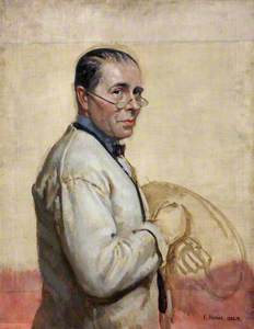 Unfinished Sketch of Sir William Orpen (1878–1931)