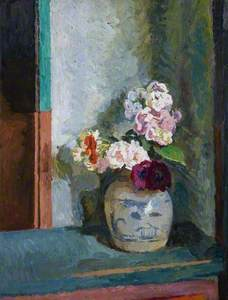 Flowers in a Ginger Jar