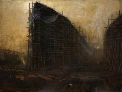 The Shipyard at Night
