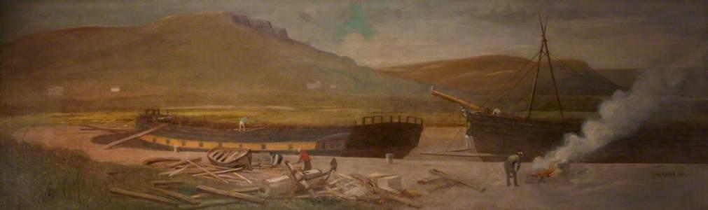 Origin of Shipbuilding in Belfast, Ritchies Dock