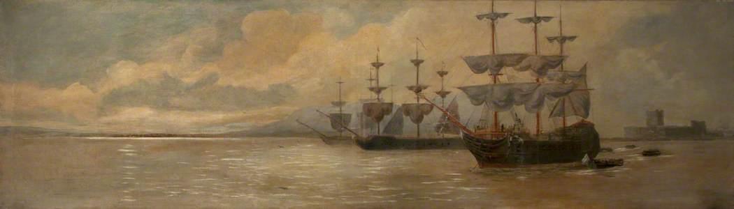 Blockade of Belfast by Thurot in 1760