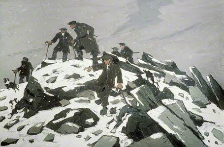 The Gathering, or, Farmers on Glyder Fach