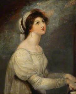 Lady Hamilton as Saint Cecilia