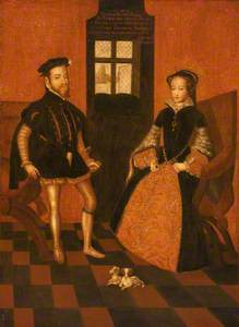 Mary I of England, 1516–1558 and Philip II of Spain, 1527–1598