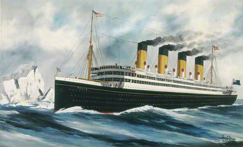 The Steamship 'Titanic'