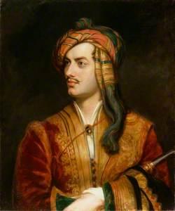 George Gordon Byron, 6th Baron Byron (replica of an original of 1813 by the artist)