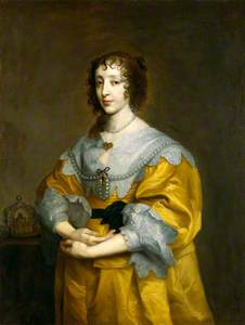 Henrietta Maria (copy after an original of c.1632–1635 by Sir Anthony Van Dyck)
