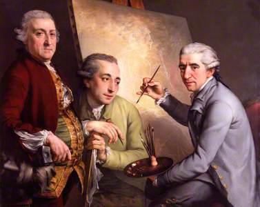 Agostino Carlini; Francesco Bartolozzi; Giovanni Battista Cipriani