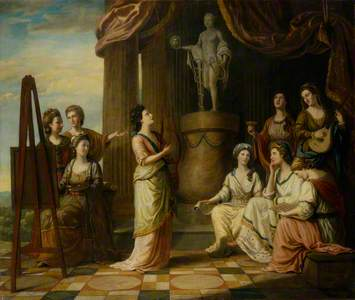 Portraits in the Characters of the Muses in the Temple of Apollo