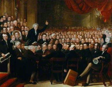 The Anti-Slavery Society Convention, 1840