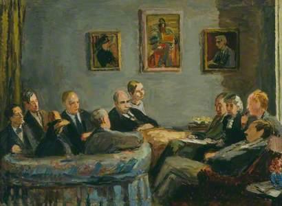The Memoir Club (Duncan Grant; Leonard Woolf; Vanessa Bell; Clive Bell; David Garnett; Baron Keynes;