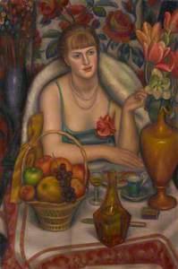 Natalie Bevan (née Ackenhausen, later Denny) ('Supper (Natalie Denny)')