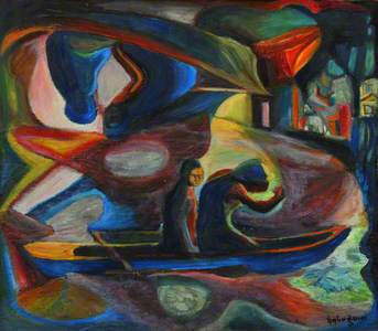 Figures in a Boat