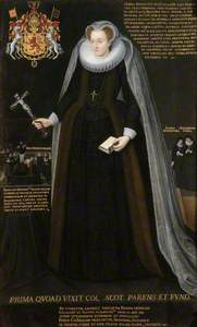 Mary Queen of Scots Memorial Portrait