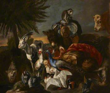 An Animal Scene