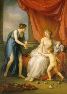 Euphrosyne Complaining to Venus of the Wound Caused by Cupid's Dart