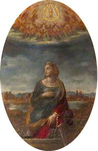 St Catherine of Alexandria (after Raphael)